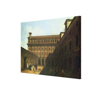 The Prison des Madelonnettes Canvas Print
