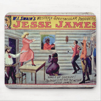'The Prison Is Not Built That Will Hold Jesse Jame Mouse Pad