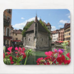 The Prison of Annecy, France Mouse Pads