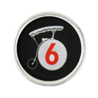 The Prisoner Number 6 Pin