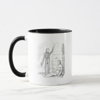 The Prisoner Visited by Death in His Cell Mug