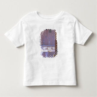 The private dining room with the black crystal toddler t-shirt
