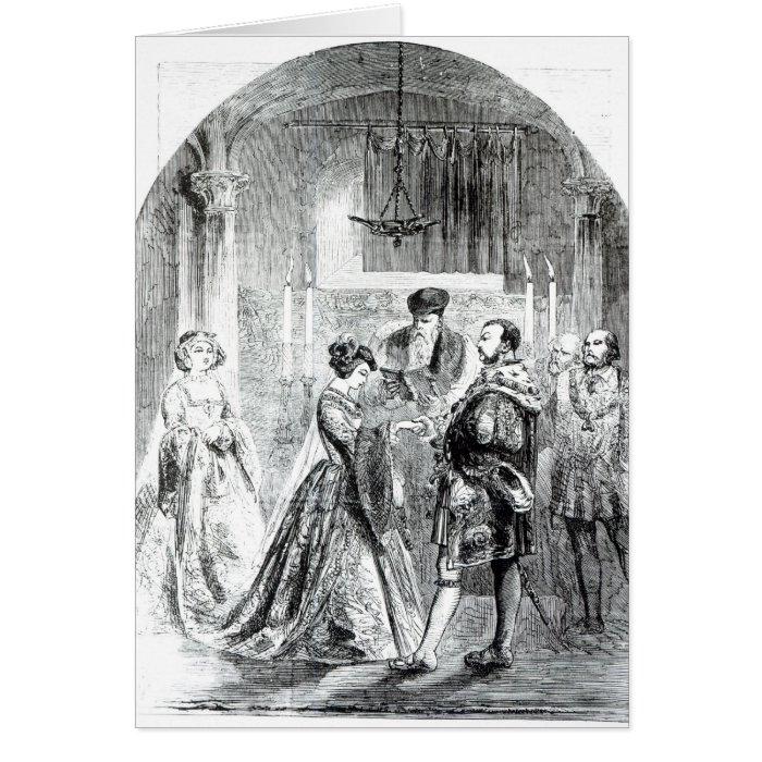 The Private Marriage of Anne Boleyn Card
