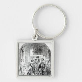 The Private Marriage of Anne Boleyn Key Chain