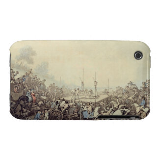 The Prize Fight, 1787 (pen, ink and w/c over graph iPhone 3 Case-Mate Case