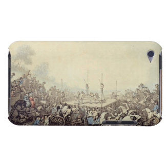 The Prize Fight, 1787 (pen, ink and w/c over graph iPod Touch Case-Mate Case