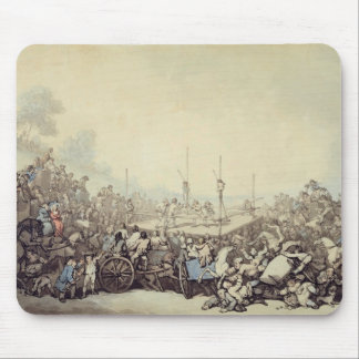 The Prize Fight, 1787 (pen, ink and w/c over graph Mouse Pad