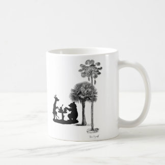 The problem with bears. classic white coffee mug