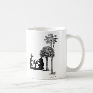 The problem with bears. coffee mug