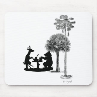 The problem with bears. mouse pad