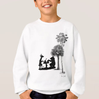 The problem with bears. sweatshirt