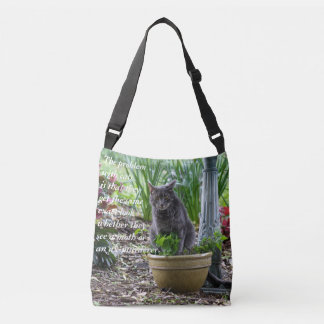 The Problem with Cats Crossbody Bag