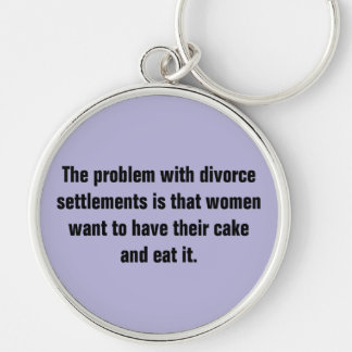 The Problem With Divorce Settlements … Keychain