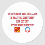THE PROBLEM WITH SOCIALISM STICKER