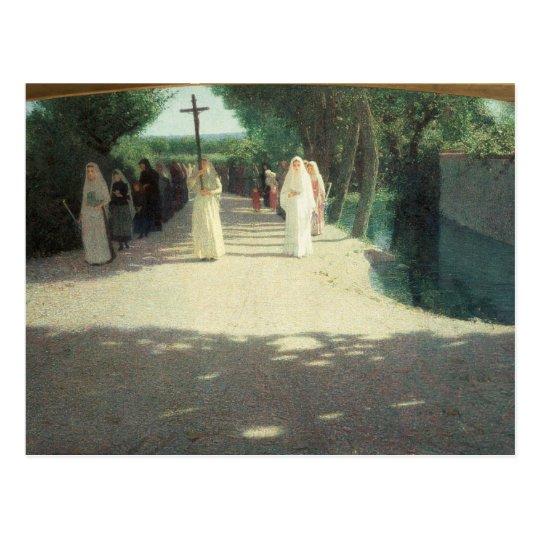 The Procession, 1892-95 Postcard
