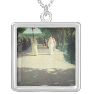 The Procession, 1892-95 Silver Plated Necklace