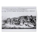 The Procession of Charles II Card
