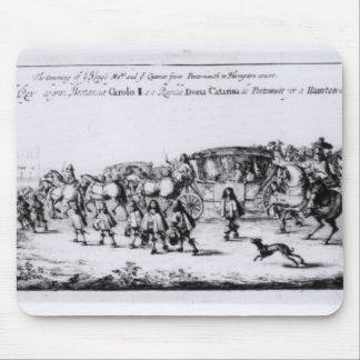 The Procession of Charles II Mouse Pad