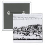The Procession of Charles II Pinback Button