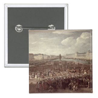 The Procession of Louis XIV (1638-1715) across the Pin
