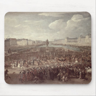 The Procession of Louis XIV (1638-1715) across the Mouse Pad