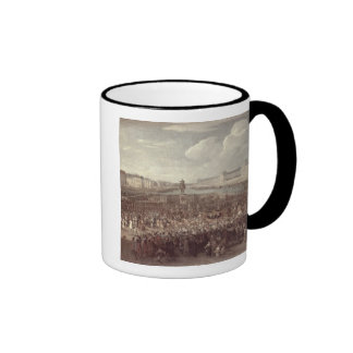 The Procession of Louis XIV (1638-1715) across the Ringer Mug