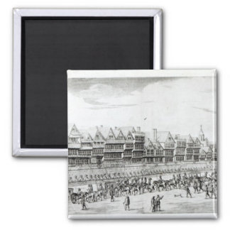 The Procession of Marie de Medici along 2 Inch Square Magnet