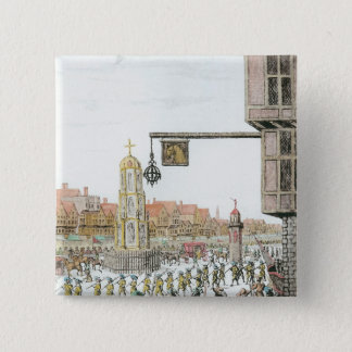 The Procession of Marie de Medici along Button