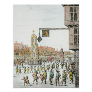 The Procession of Marie de Medici along Poster