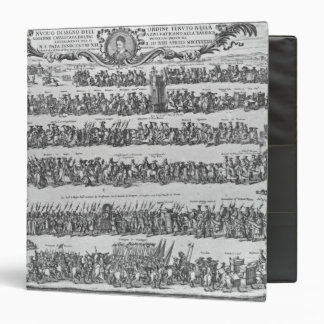 The Procession of Pope Innocent XII Vinyl Binder
