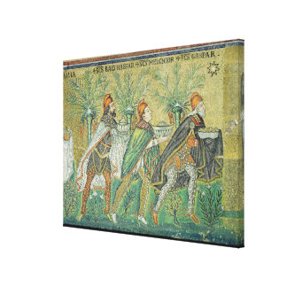 The procession of the three kings canvas print