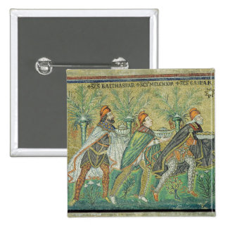 The procession of the three kings pinback button