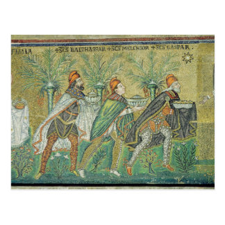 The procession of the three kings postcard
