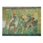 The procession of the three kings postcards