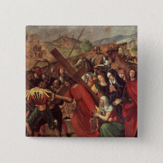 The Procession to Calvary, c.1505 Pinback Button