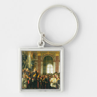 The Proclamation of Wilhelm as Kaiser Keychain