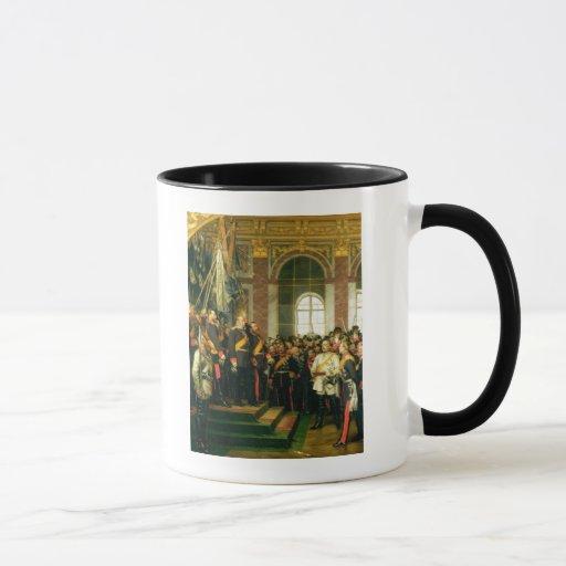 The Proclamation of Wilhelm as Kaiser Mug