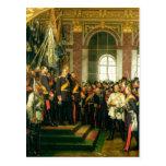 The Proclamation of Wilhelm as Kaiser Postcard