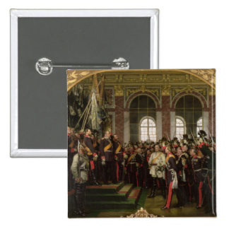 The Proclamation of Wilhelm 2 Inch Square Button