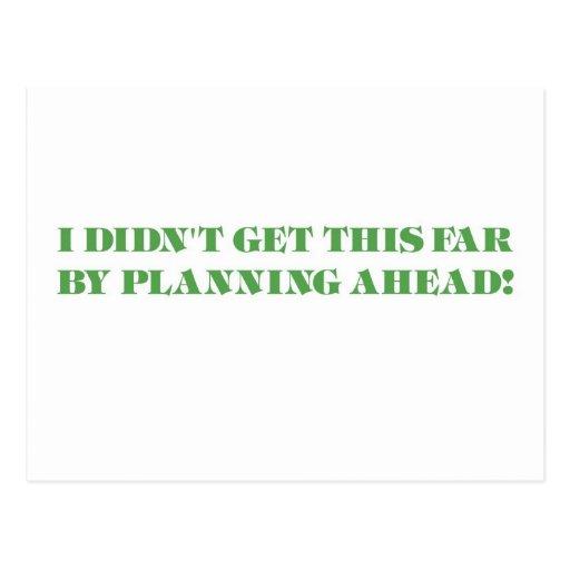 The Procrastinator Postcards