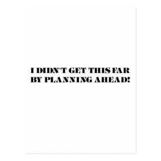 The Procrastinator Postcard