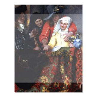 The Procuress by Johannes Vermeer Custom Flyer
