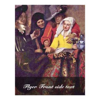 The Procuress,  By Johannes Vermeer Flyers
