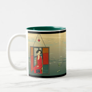 The Prodigal Abroad Two-Tone Coffee Mug
