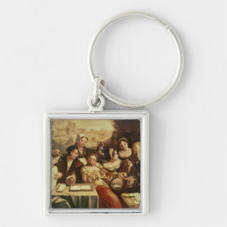 The Prodigal Son Feasting with Harlots Keychain