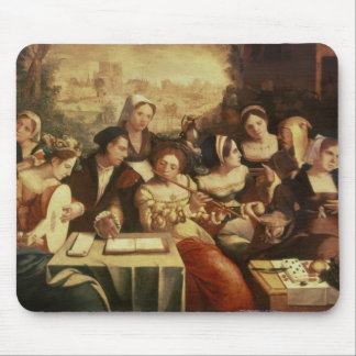 The Prodigal Son Feasting with Harlots Mouse Pad