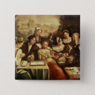The Prodigal Son Feasting with Harlots Pinback Button