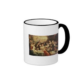 The Prodigal Son Feasting with Harlots Ringer Mug