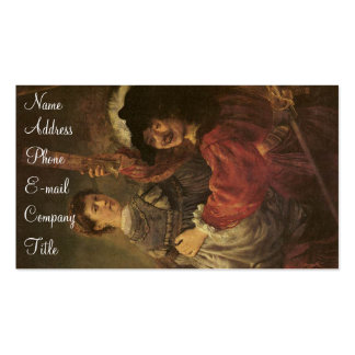 'The Prodigal Son in a Tavern' Double-Sided Standard Business Cards (Pack Of 100)