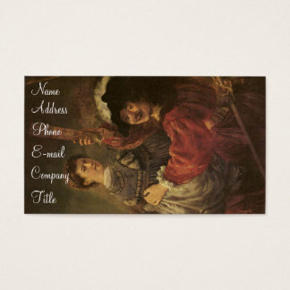 'The Prodigal Son in a Tavern' Business Card